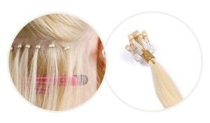micro-loop hair extensions