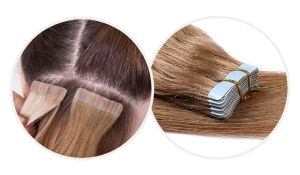 tape-in-hair extensions